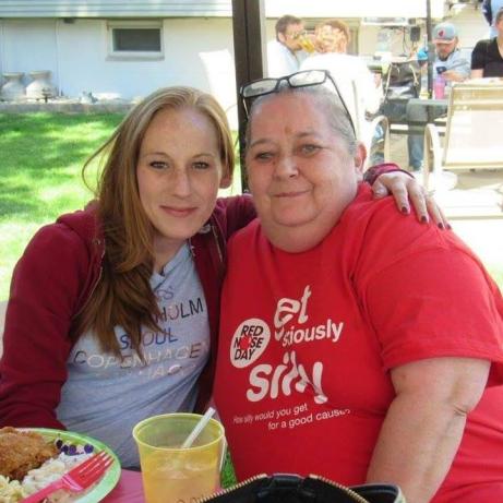 mom aunt judi picnic